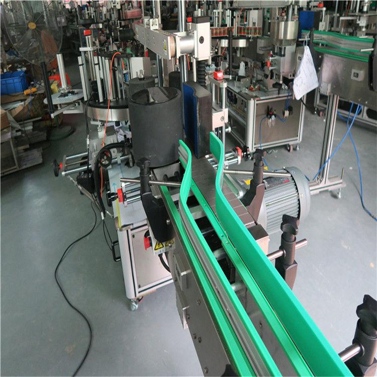 Dwie automatyczne maszyny do etykietowania etykiet Dwustronna etykieciarka 6000-8000 B / H