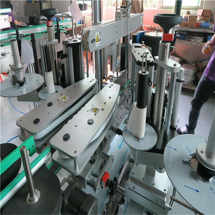 Maszyna do etykietowania butelek wody z przodu iz tyłu