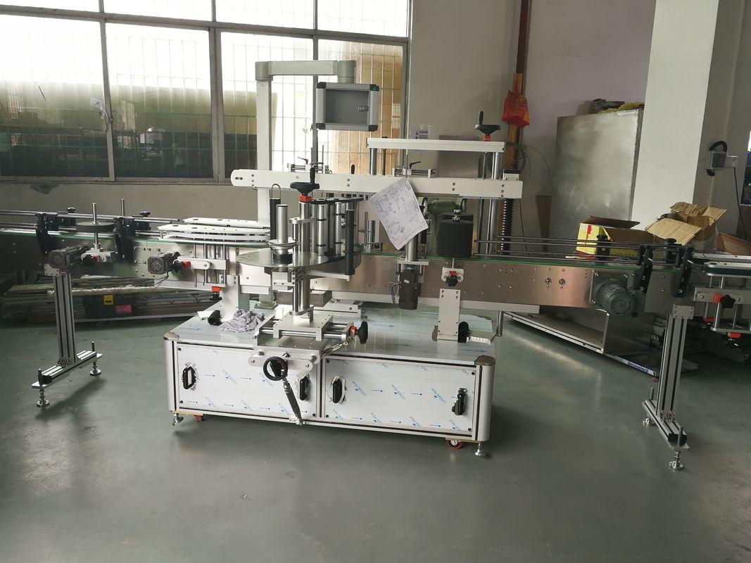 Butelka soku / wina Automatyczna maszyna do etykietowania naklejek, automatyczna maszyna do etykietowania