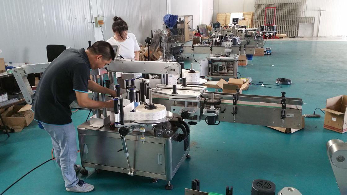 Indywidualna maszyna do etykietowania butelek wody, automatyczna etykieciarka stołowa