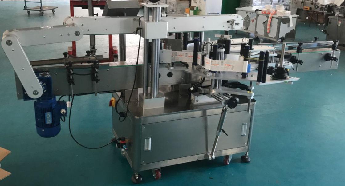 Automatyczna maszyna do etykietowania butelek szklanych płaskich butelek, maszyna do etykietowania naklejek