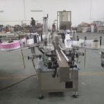 Butelki plastikowe i szklane Automatyczna maszyna do etykietowania dwustronnych naklejek