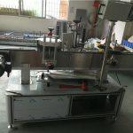 Samoprzylepna naklejka Owalna maszyna do etykietowania butelek Stan niestandardowy