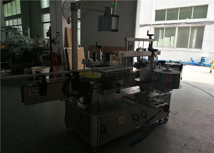 Dwustronna okrągła / kwadratowa / płaska plastikowa maszyna do etykietowania butelek