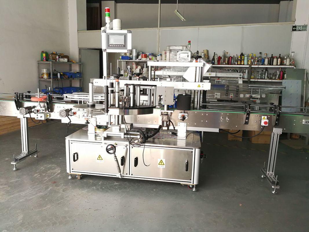 Maszyna do etykietowania okrągłych butelek / W pełni automatyczny aplikator etykiet do płaskich powierzchni