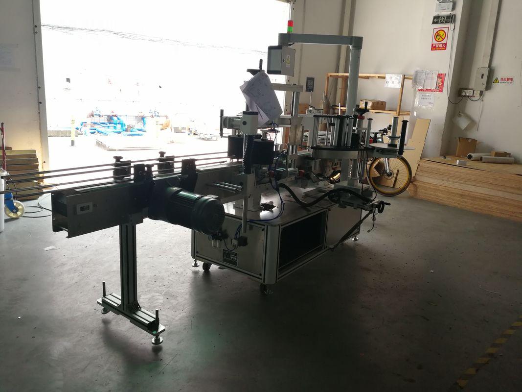 Maszyna do etykietowania płaskich butelek, z jedną lub dwiema stronami