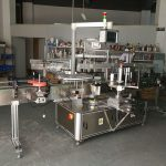 Wysoko precyzyjna, wielofunkcyjna maszyna do etykietowania płaskich butelek z napędem elektrycznym