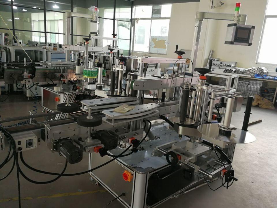 System szybkiego etykietowania podwójnych narożników do kartonów farmaceutycznych