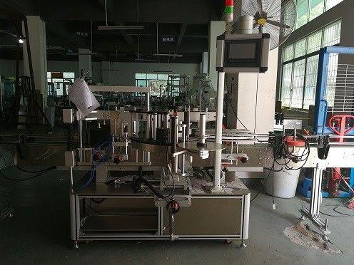 Dwustronnie plastikowa maszyna do etykietowania butelek / automatyczna etykieciarka do butelek