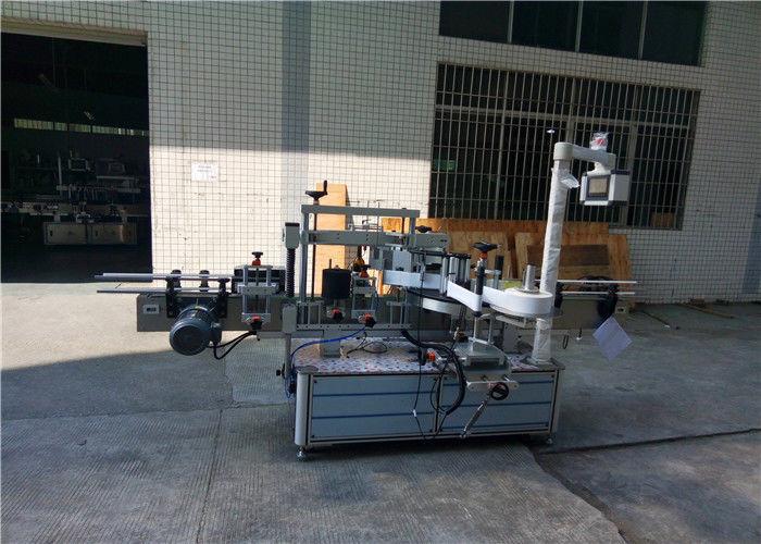 W pełni automatyczne maszyny do etykietowania butelek kwadratowych 4000-8000 B / H Wydajność