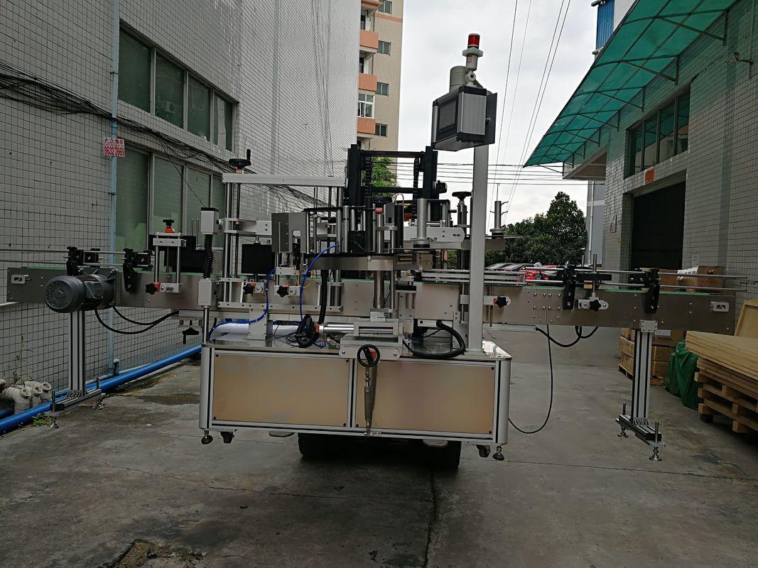 Automatyczna maszyna do etykietowania etykiet dwustronnych Aplikator etykiet do plastikowego słoika