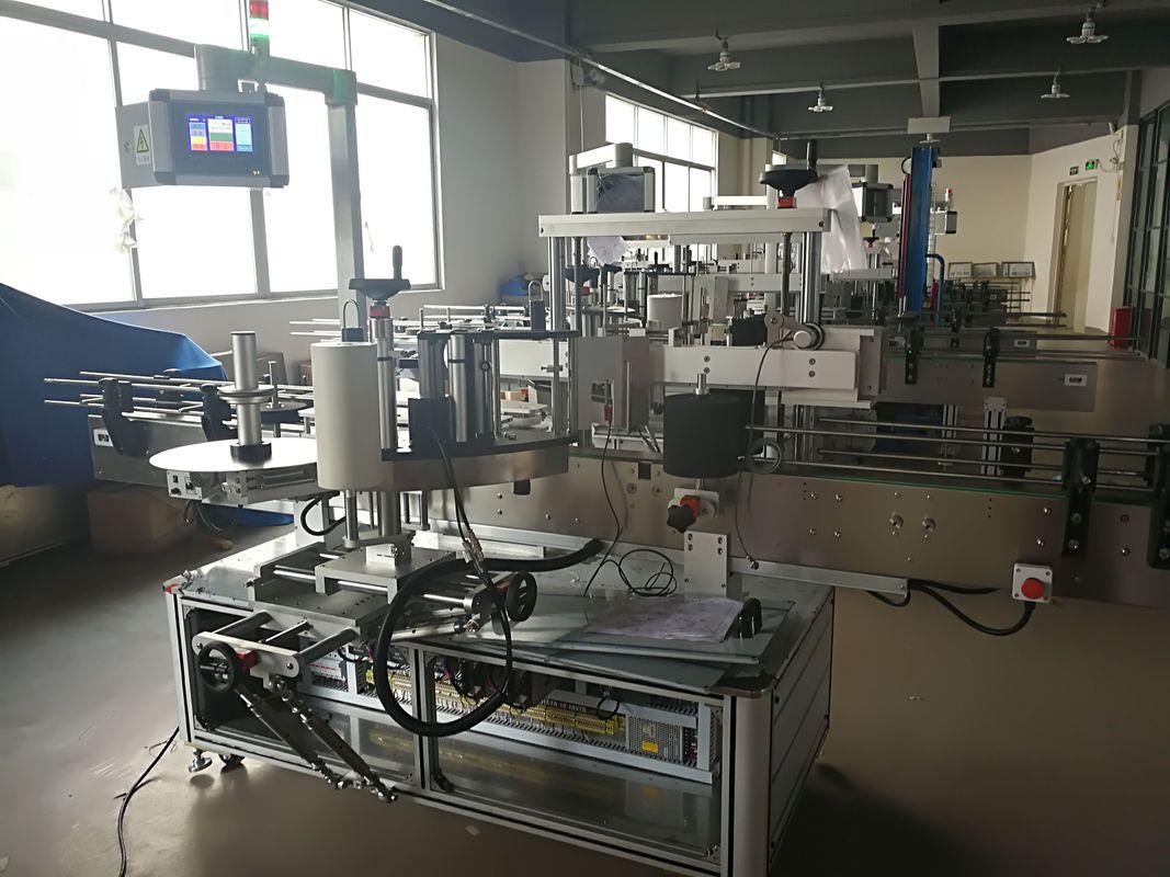 Płaska maszyna do etykietowania butelek, automatyczna maszyna do etykietowania etykiet