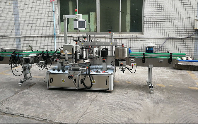 Dwustronna automatyczna maszyna do etykietowania naklejek z serwomotorem