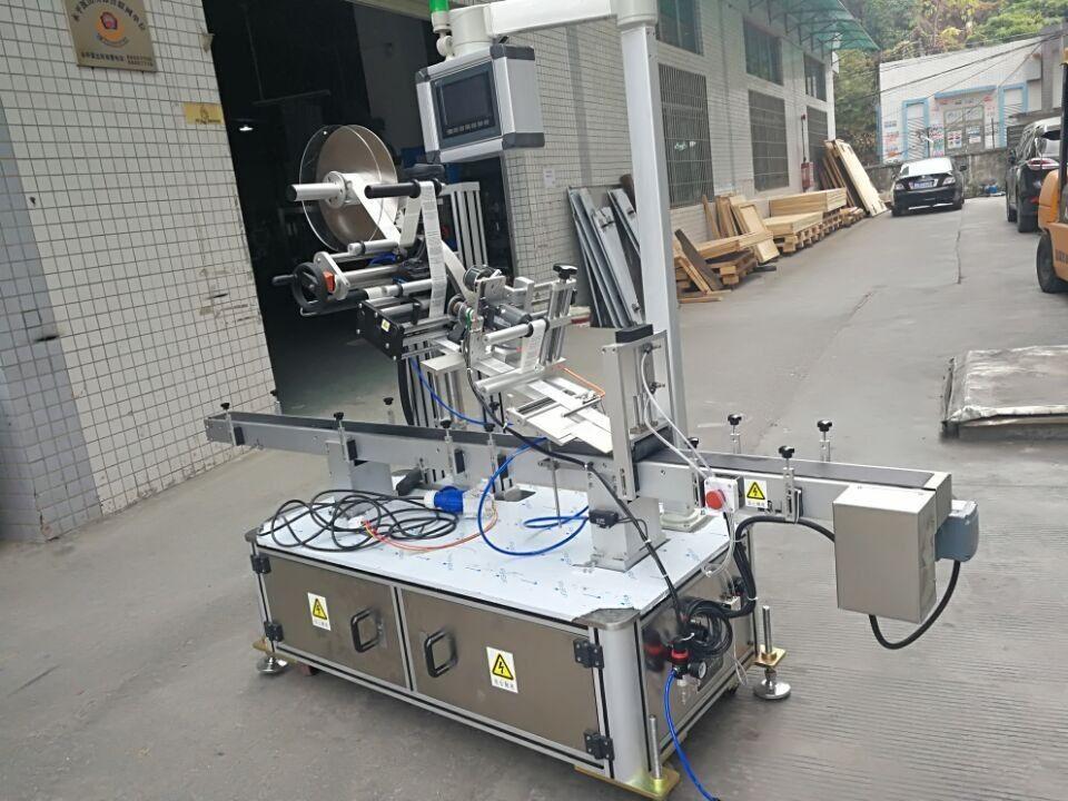 Naklejka górna maszyna do etykietowania do woreczka z dyszą typu napędzanego elektrycznie