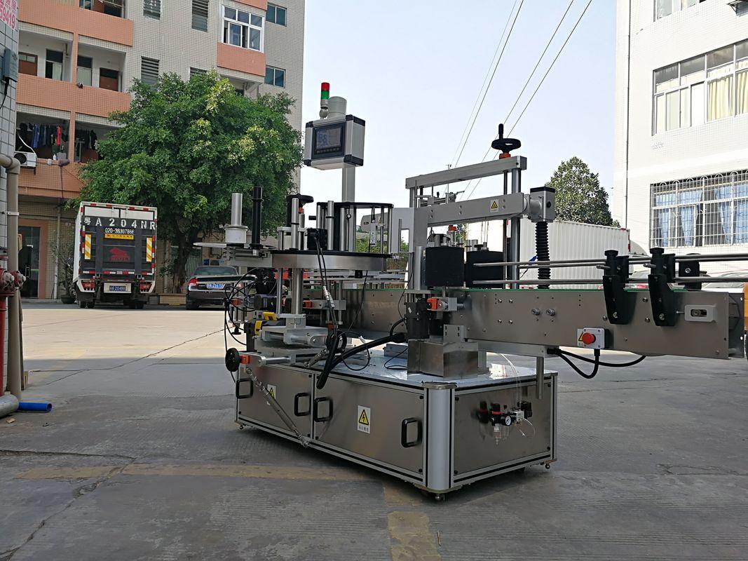 Szybki automatyczny trójstronny aplikator do butelek kwadratowych