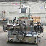 Precyzyjna automatyczna dwustronna maszyna do etykietowania płaskich butelek