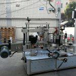 Samoprzylepna cylindryczna / owalna maszyna do etykietowania butelek z ekranem dotykowym PLC