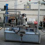 Dwustronna naklejka Eliptyczna owalna butelka Automatyczna maszyna do etykietowania