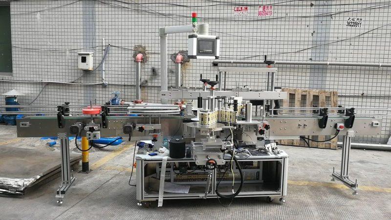 Chiny Automatyczna maszyna do etykietowania butelek kwadratowych z klejem dwustronnym