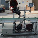 Wysokowydajna maszyna do etykietowania górnego z przenośnikiem taśmowym dzielonym