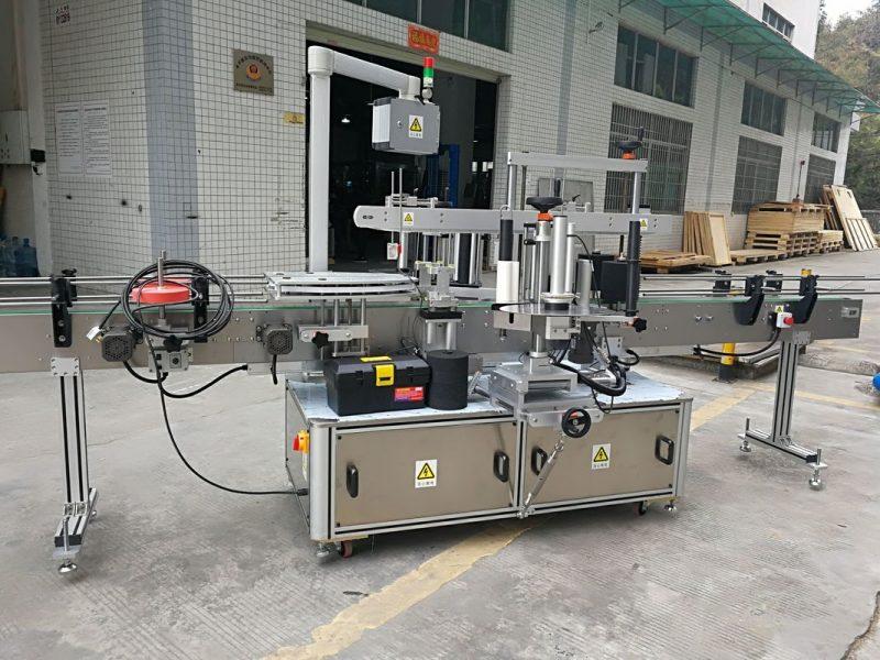 Chiny Pełna automatyczna maszyna do etykietowania naklejek narożnych kartonów 220V 50HZ 1200W dostawca