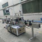 Samoprzylepna naklejka Dwustronna maszyna do etykietowania butelek w pełni automatyczna